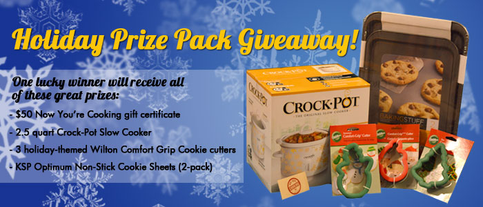 Holiday Prize Pack Giveaway!