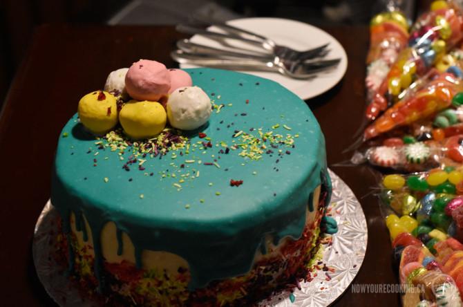 Monique's birthday cake