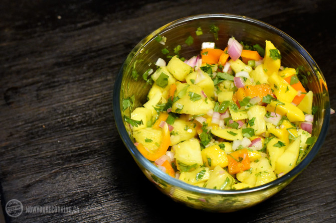 Now You're Cooking - Pineapple Mango Salsa