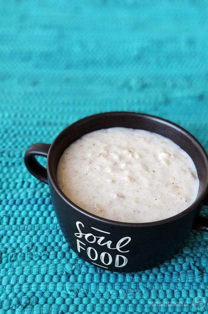 Jamaican Oats Porridge